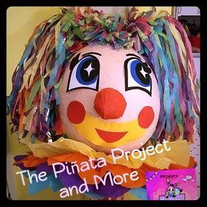 20in Girl Clown Piñata